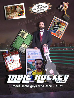Lou's other worthy film: Table Hockey (the movie)!