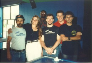 Mark Robbins, Kara, Tim Weissman, Don James, and the late Owen Giraldo. Anybody know who the guy in back is?