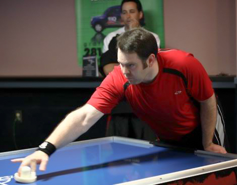 Joe Cain, #2 Air Hockey Player in California