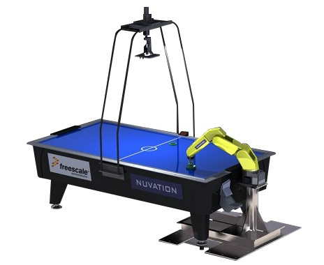 Nuvation Air Hockey Robot